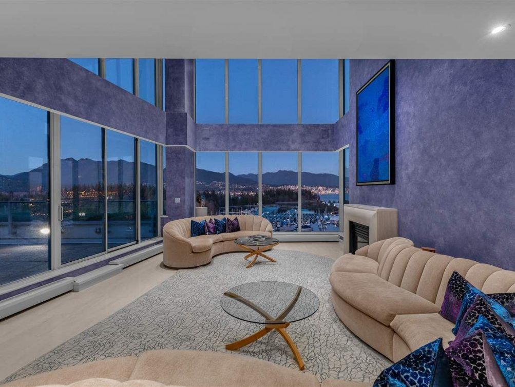 15-1717 Bayshore Drive Luxury Penthouse For Sale MLS Vancouver