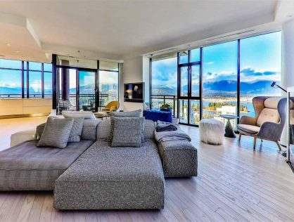 Luxury Penthouse For Sale Coal Harbour – PH3801-1211 Melville St