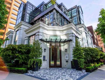 1110 Hornby St Townhouse For Sale Downtown Vancouver BC