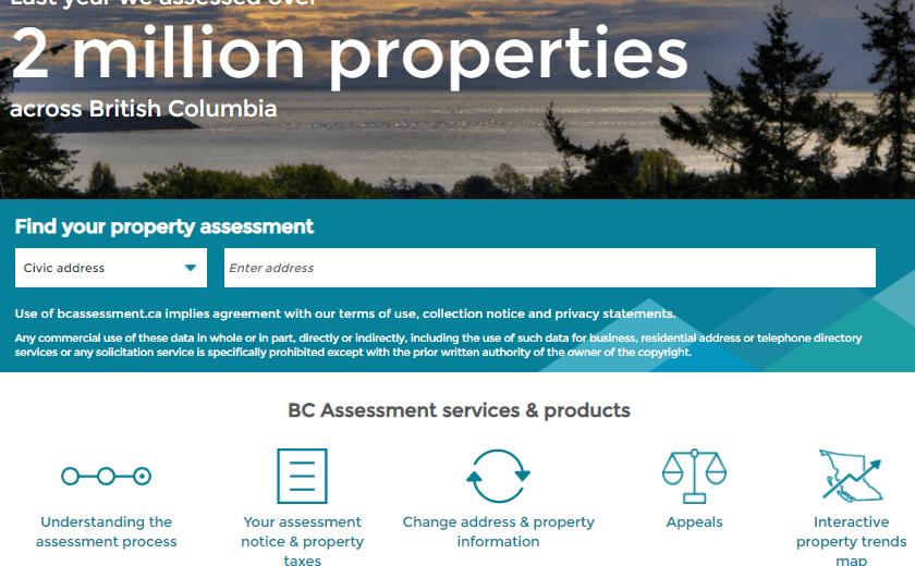 B.C. Assessment updates 2021 - Increase
