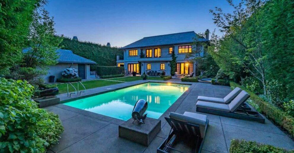 温哥华豪宅售出价格4200万 - 远低于要价但也是创历史新高